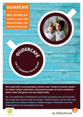 Oudercafe Oss 25 september